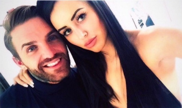 Marnie Simpson and Aaron Chalmers, Instagram 11 April