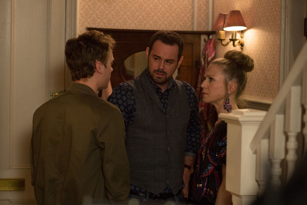EastEnders, Linda tells Johnny about Dean raping her, Tue 12 Apr