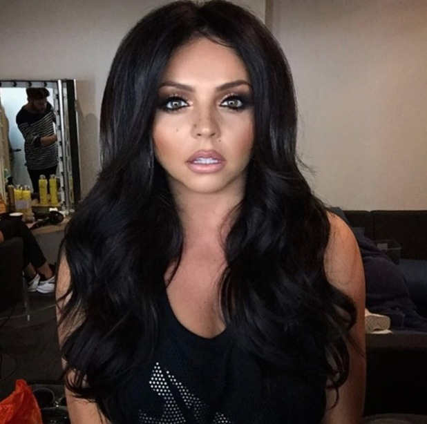 Little Mix's Jesy Nelson takes her hair from red to black, Instagram, 14th April 2016