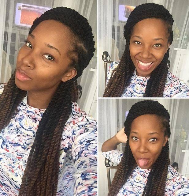 Beaut selfie of Loose Women panellist Jamelia, 5 April 2016.