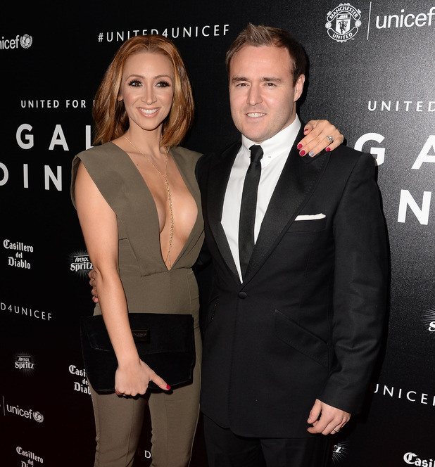 Lucy-Jo Hudson and Alan Halsall - 16th Annual United for UNICEF Gala Dinner. 30 November 2015.