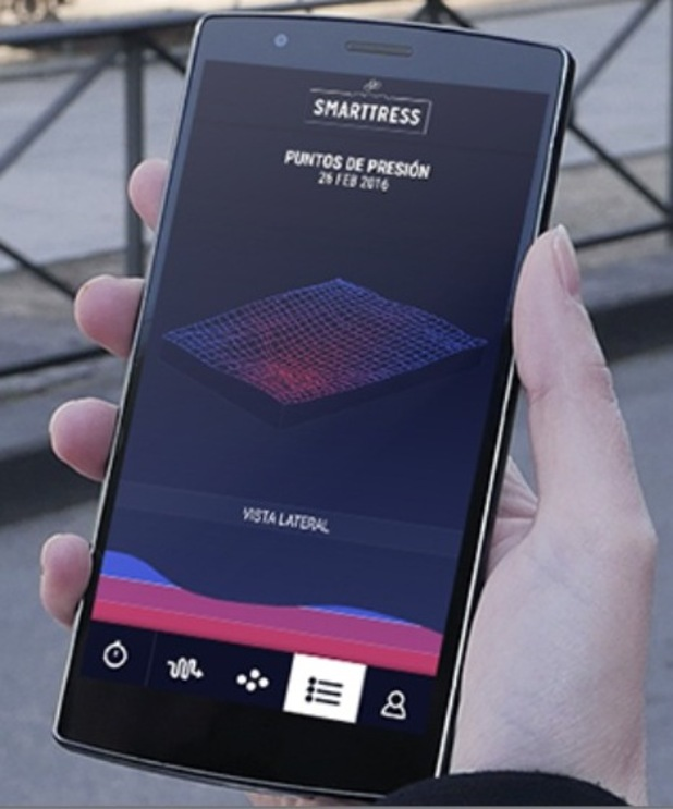 Smarttress mattress can notify you if your partner is cheating