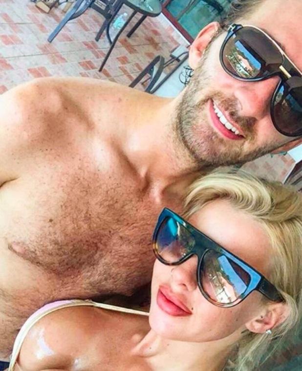 Hannah Elizabeth and boyfriend George Andreetti in Thailand 13 April