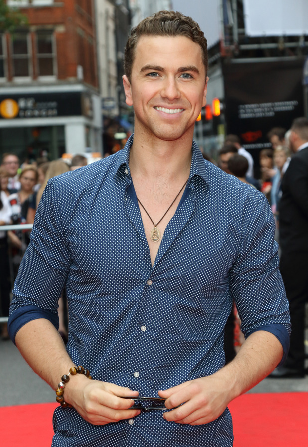 Richard Fleeshman - American Idiot The Musical' - Press Night at the Arts Theatre - 22 July 2015.