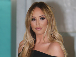 Geordie Shore's Charlotte Crosby wears clothes from her In The Style collection for appearance on ITV's This Morning, 19th April 2016