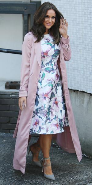 Vicky Pattison outside ITV Studios, London 20 April