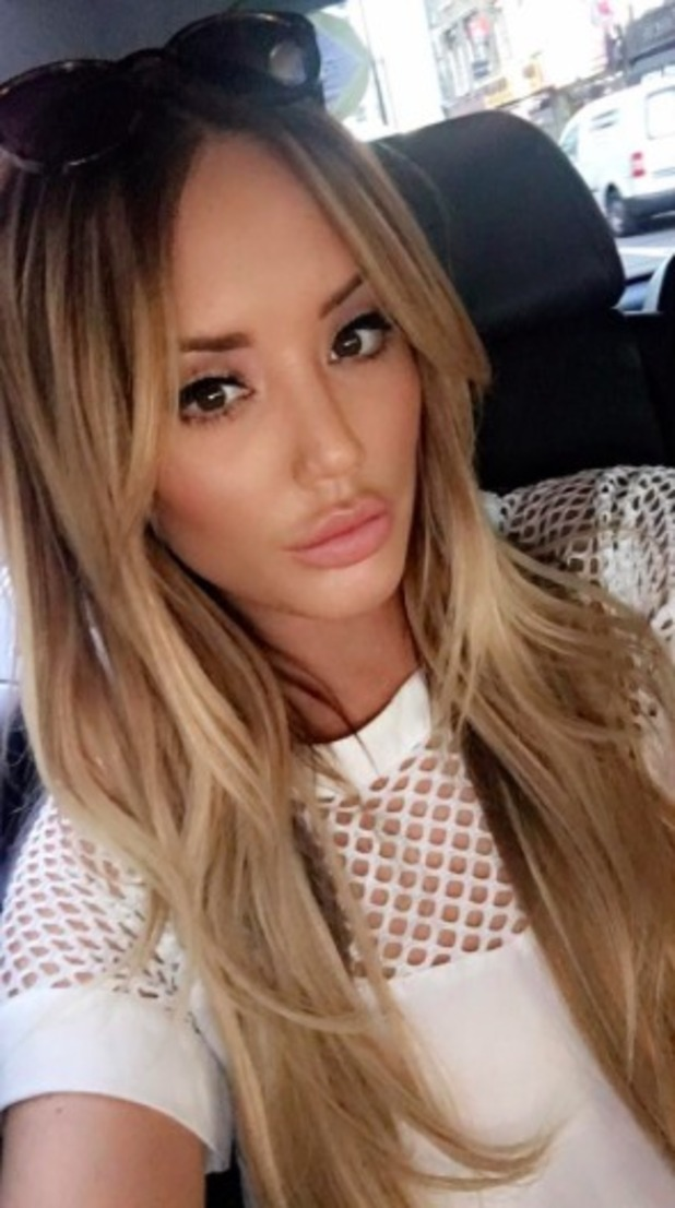 Charlotte Crosby looks sultry in new selfie, April 2016.