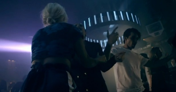 Made In Chelsea - episode two - Ollie dancing. 18 April 2016.