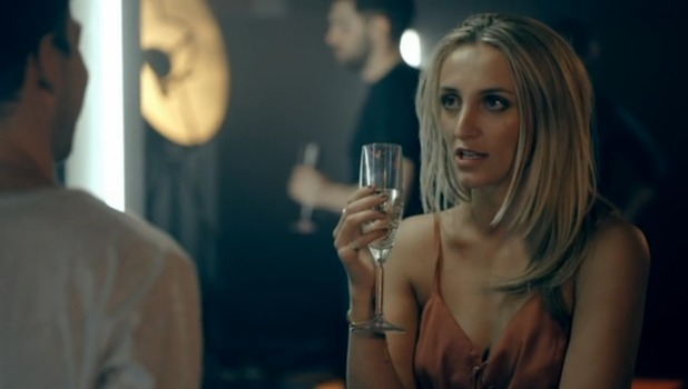 "Made In Chelsea - episode two - Sam tells Tiff to ""stop giving him evils"". 18 April 2016."