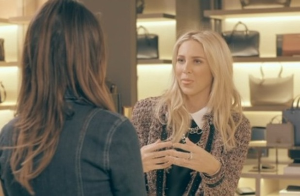 Made In Chelsea - episode two - Stephanie speaks to Lucy. 18 April 2016.