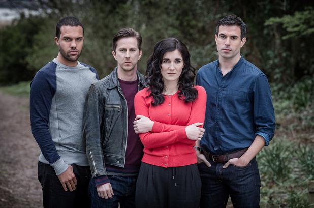 The Five - Sky 1 - Danny, Slade, Pru and Mark. April 2016.
