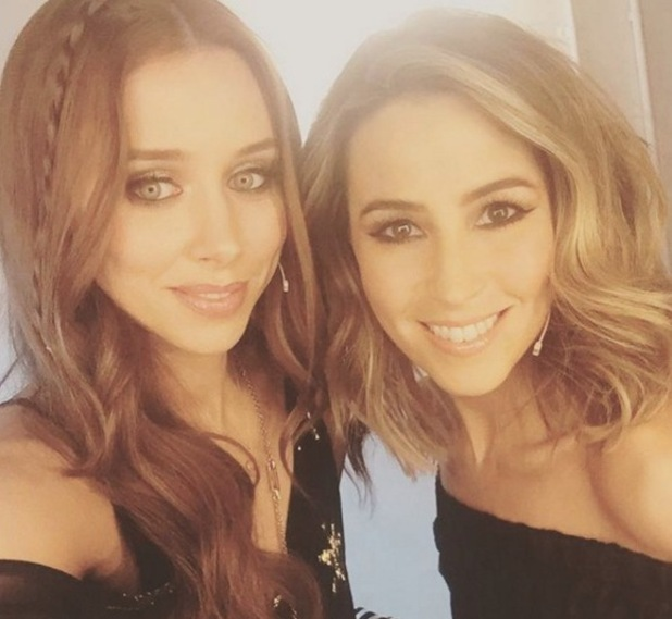 Rachel Stevens and Una Healy on The Voice of Ireland 17 April