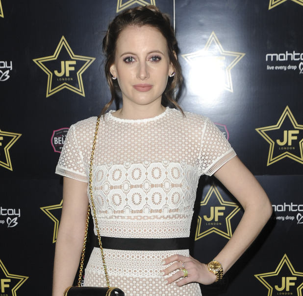 Rosie Fortescue attends JF London collection launch - 22 February 2016.