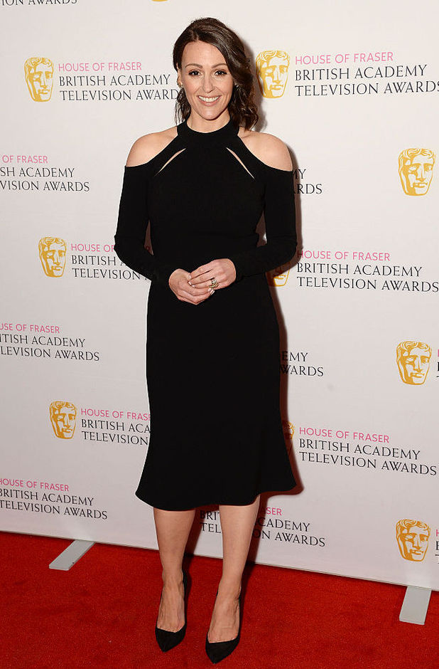 Suranne Jones attends the House of Fraser British Academy Television and Craft Nominees Party at The Mondrian Hotel on April 21, 2016 in London, England.