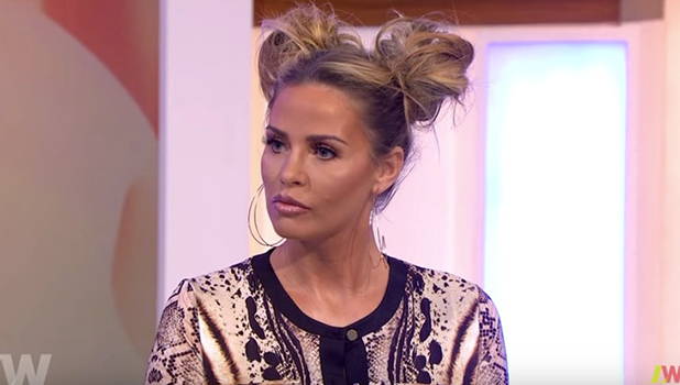 Katie Price on Loose Women talking about her sunbed mishap, 19 April 2016