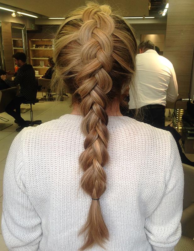 Lara Martin tries Hair Rehab London