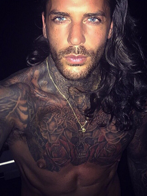Pete Wicks in Mexico, 19 April 2016