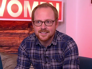 Charlie Clements on ITV's Loose Women, 13 April 2016
