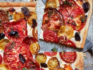 TV chef John Waite's recipe for easy Rustic Mediterranean Tomato Tart