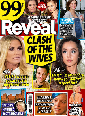 Reveal Magazine cover for issue 17, 2016