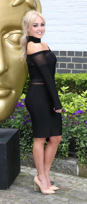 I'm A Celebrity star Jorgie Porter attends the British Academy Television Craft Awards 2016