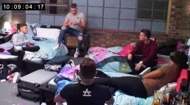 Geordie Shore episode 7: Marty chats to the boys.