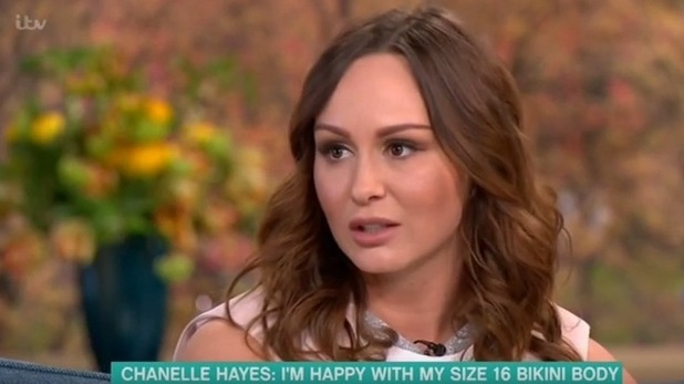 Chanelle Hayes on ITV's This Morning - 25 April 2016.