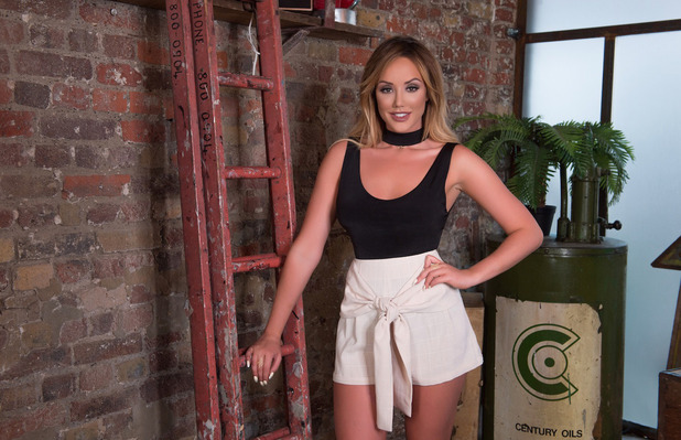 Geordie Shore star Charlotte Crosby unveils her new spring summer line with In The Style, shorts and top, 26th April 20167