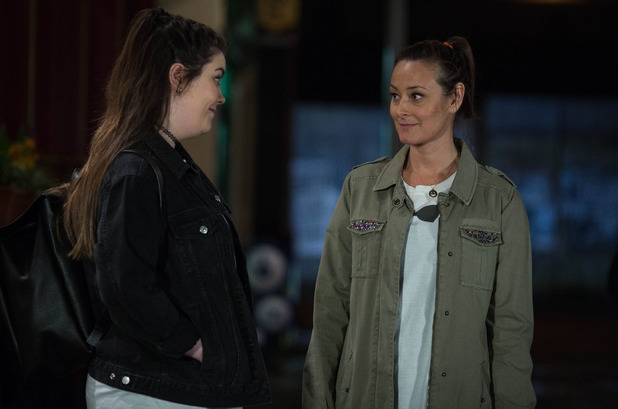 EastEnders, Soph and Tina agree to be friends, Thu 28 Apr