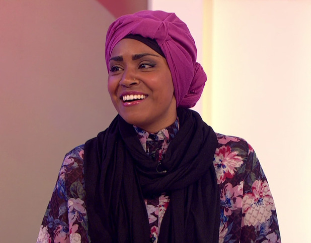 Nadiya Hussain, a panellist on 'Loose Women' reveals she is to bake the 90th birthday cake for the Queen. 15 April 2016.