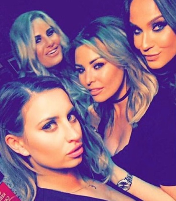 Vicky Pattison joins the TOWIE girls to watch Ferne McCann at Gatsby