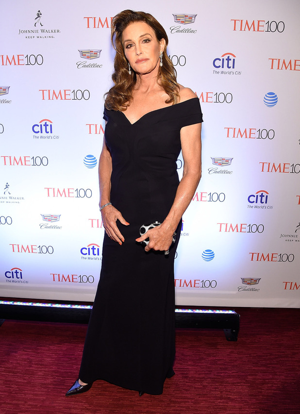 Caitlyn Jenner attends the Time 100 Gala in New York City, 27th April 2016