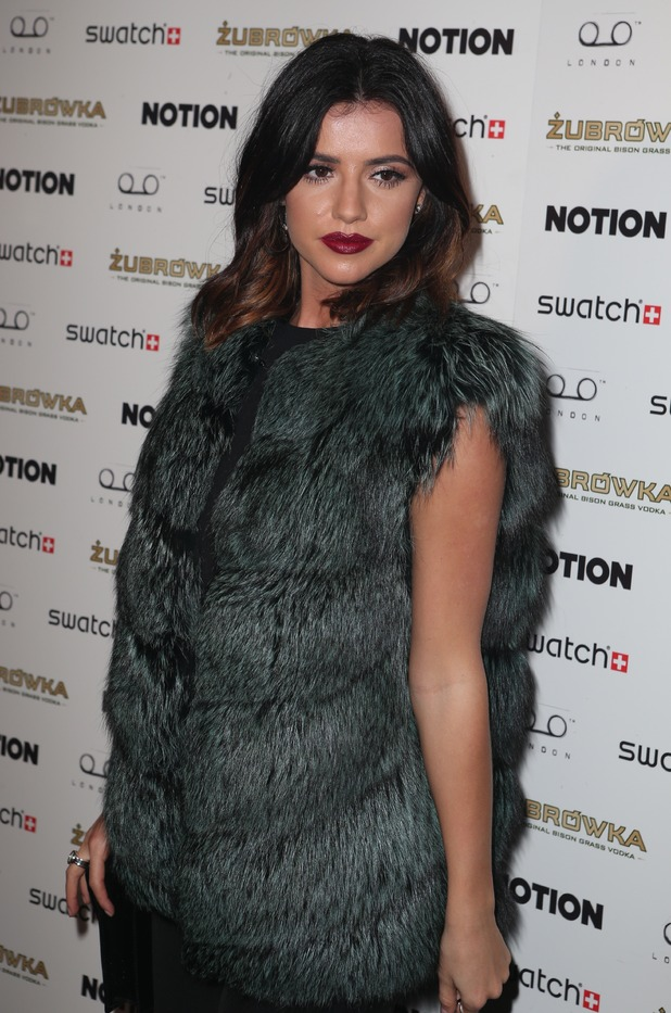 Lucy Mecklenburgh - Notion Magazine issue 72 launch Party. 24/3/2016.