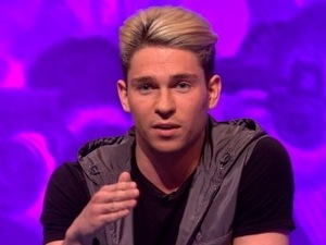 Joey Essex on Celebrity Juice. 5 May 2016.