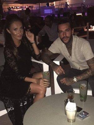 Pete Wicks, Megan McKenna in Dubai. 2 May 2016.