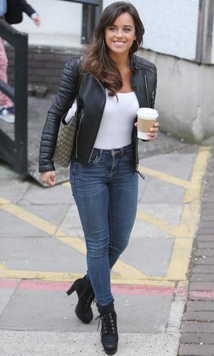 Georgia May Foote outside ITV Studios, London 3 May