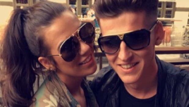 Imogen Townely and boyfriend Louis Harding 3 May
