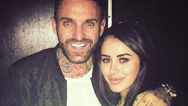 Marnie Simpson and Aaron Chalmers pose for new picture - 5 May 2016