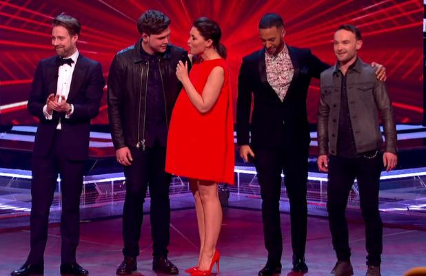 Emma Willis pregnant on The Voice