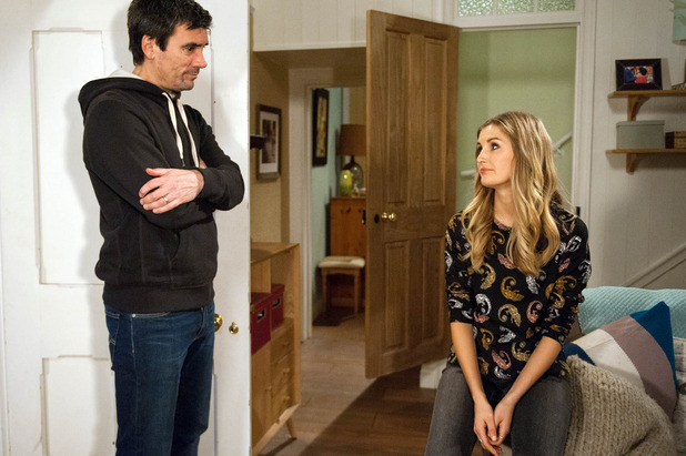 Emmerdale, Cain gets Holly to help, Mon 9 May