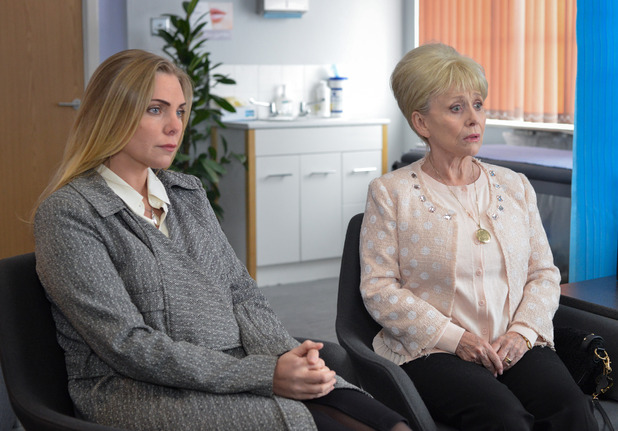 EastEnders, Peggy gets bad news, Tue 10 May