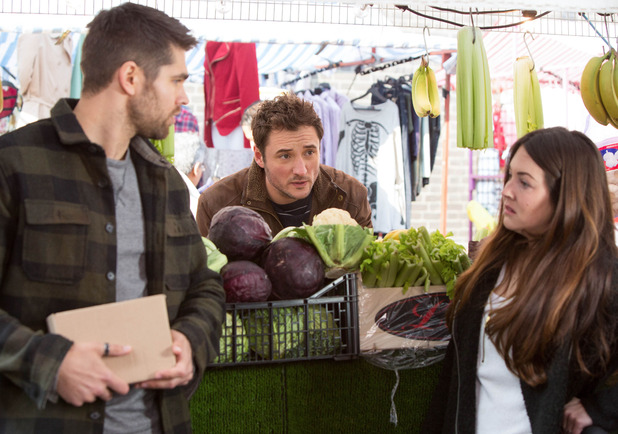 EastEnders, Martin, Andy, Stacey plot to steal toilet, Thu 5 May