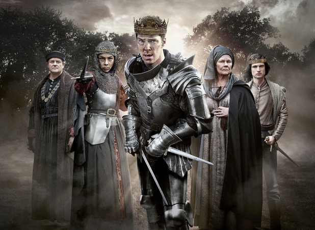 The Hollow Crown: War Of The Roses, BBC2, Benedict Cumberbatch, Judi Dench, Tom Sturridge, Sophie Okonedo, Sat 7 May