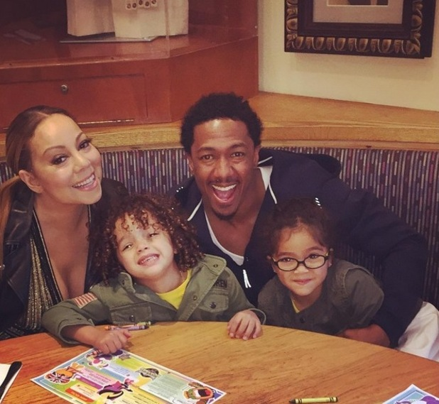 Mariah Carey and Nick Cannon enjoy fun family time with Moroccan and Monroe. 5 May 2016.