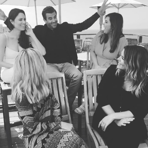 Jason Wahler shares pictures from E!'s Laguna Beach reunion - 4 May 2016