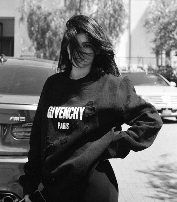 Kendall Jenner's photo of Kylie Jenner, 6/5/16