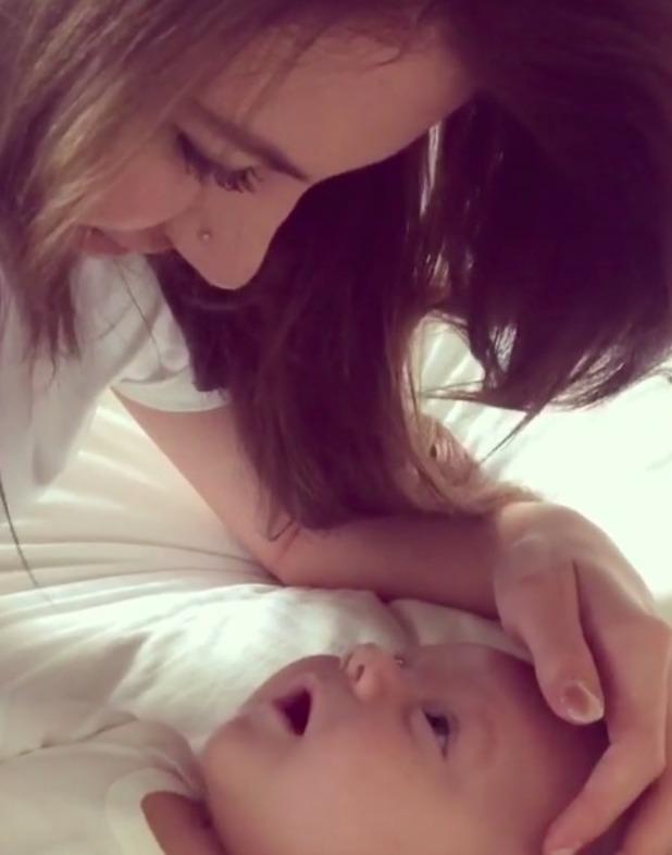Briana Jungwirth with baby Freddie