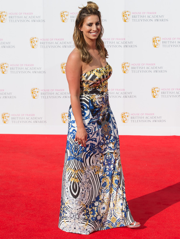 Ferne McCann -The House of Fraser British Academy Television Awards 2016 held at the Royal Festival Hall - Arrivals - 8 May 2016