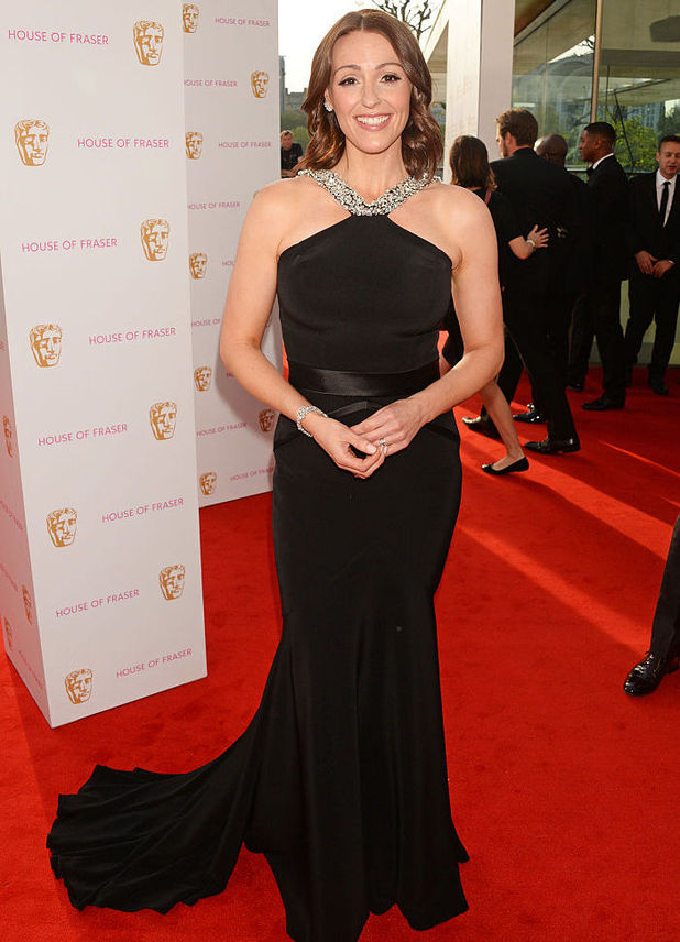 Suranne Jones attends the House Of Fraser British Academy Television Awards 2016 at the Royal Festival Hall on May 8, 2016 in London, England.