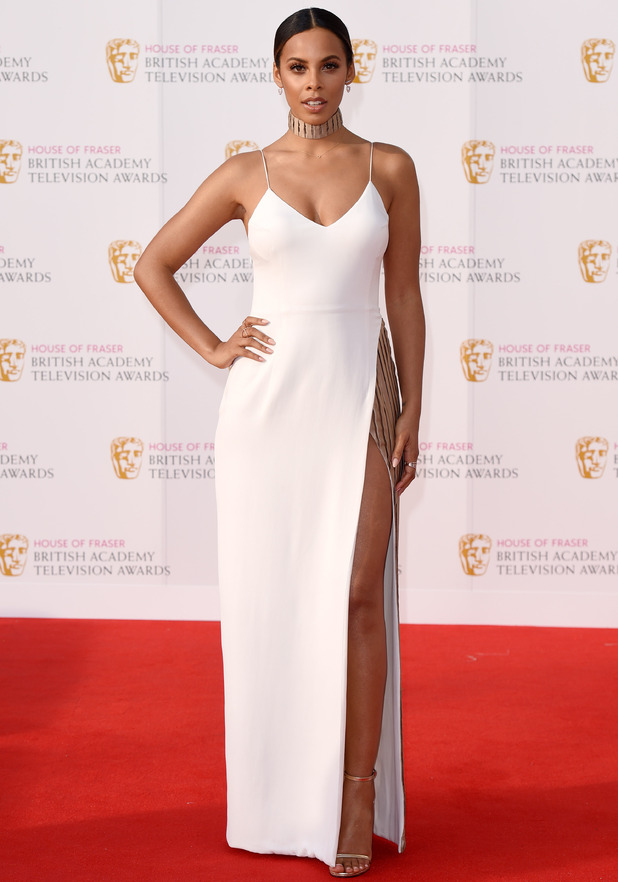 House of Fraser British Academy Television Awards, Arrivals, Royal Festival Hall, London, Britain - 08 May 2016 Rochelle Humes